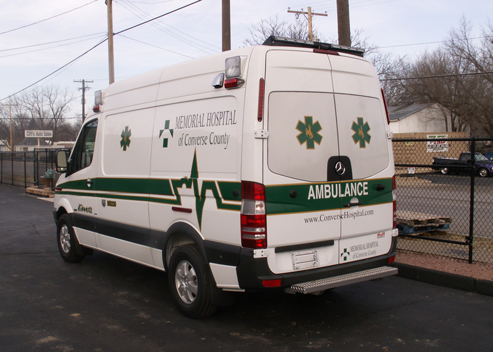 converse county memorial hospital sprinter ambulance by miller coach