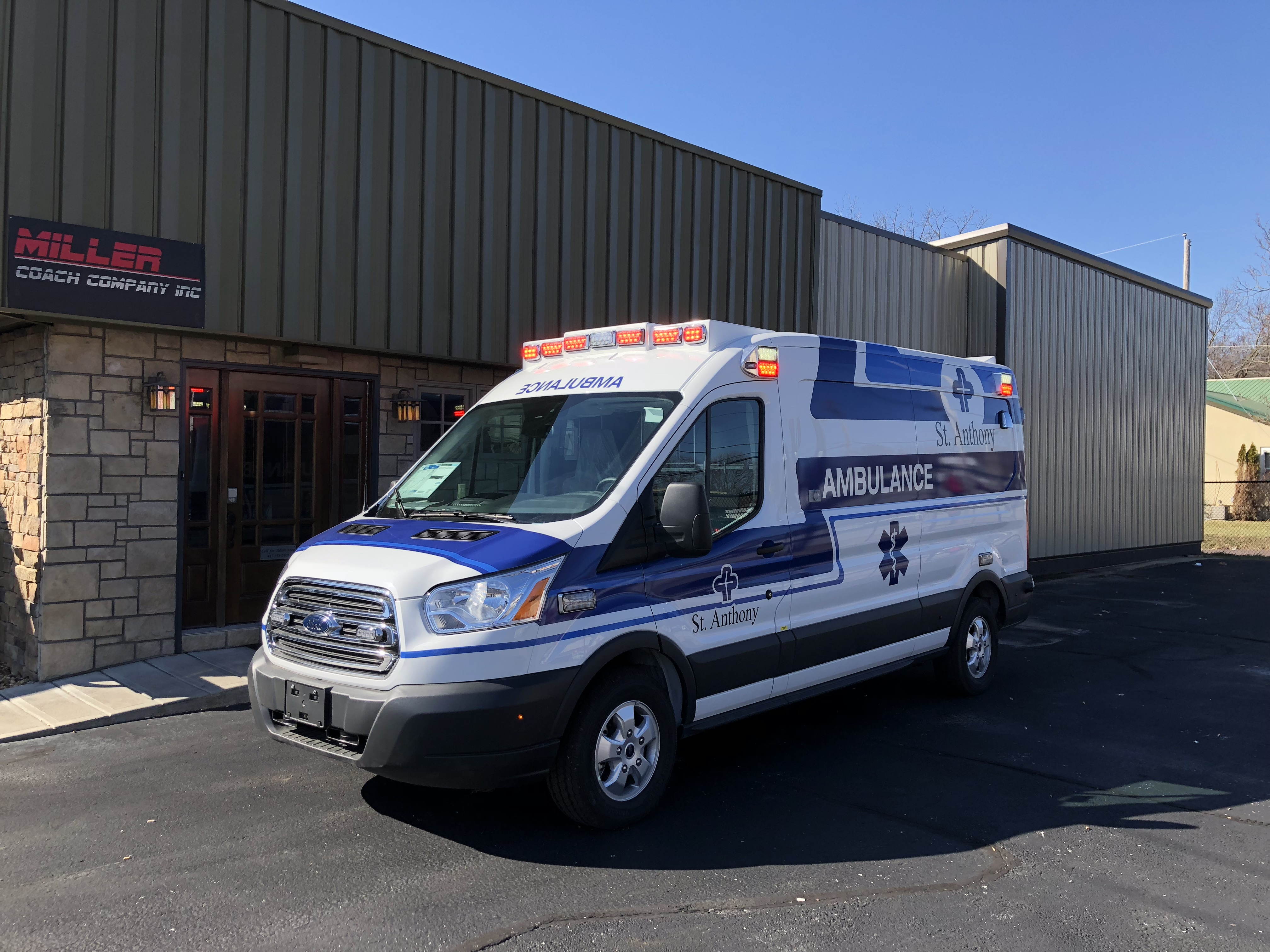 Miller Coach Ambulance Builders | Photo Gallery Sprnter and Transit